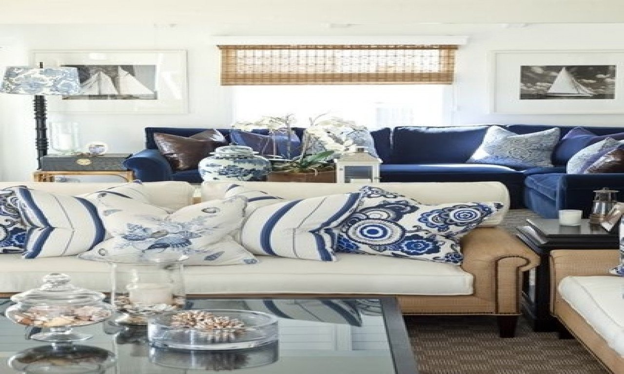 Navy Blue Living Room Decor Navy Blue and White Living Room Decor