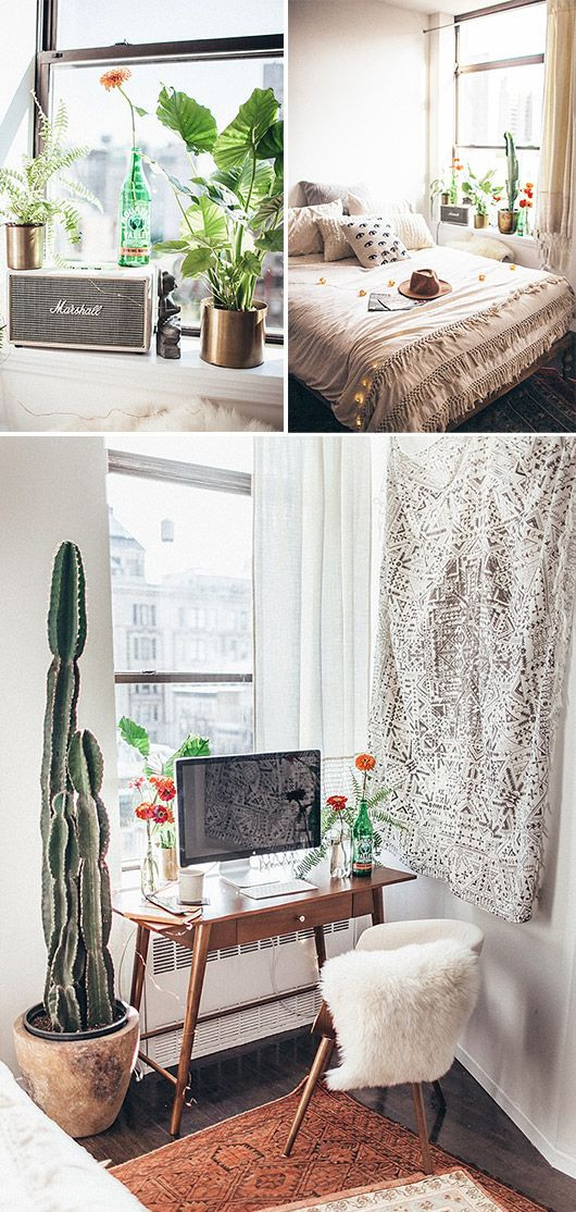 New York City Bedroom Decor at Home In New York City