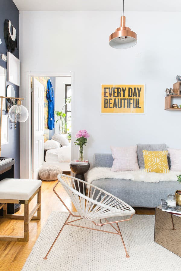 New York City Bedroom Decor Decorating A Tiny Apartment E Shoe at A Time the New