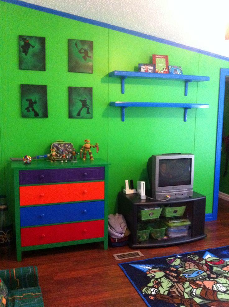 Ninja Turtles Bedroom Ideas Boy Bedroom Ideas