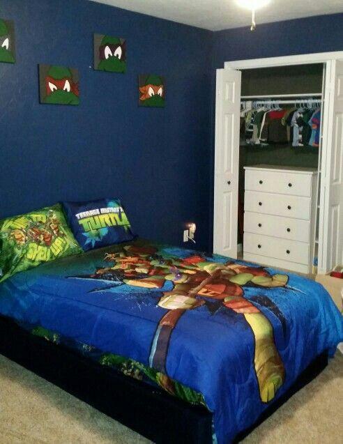 Ninja Turtles Bedroom Ideas Pin by Dori Montano On Boys Room