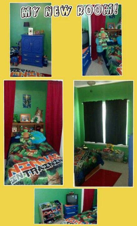 Ninja Turtles Bedroom Ideas Teenage Mutant Ninja Turtles Bedroom for My 4 Year Old