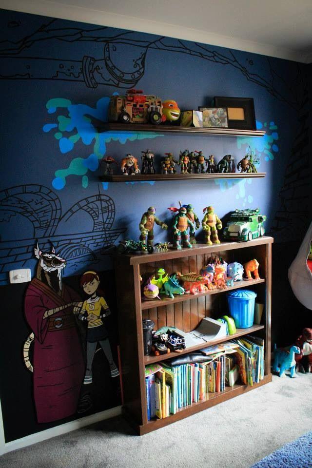 Ninja Turtles Bedroom Ideas Teenage Mutant Ninja Turtles Bedroom Ideas