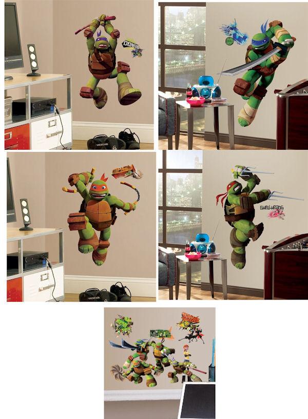 Ninja Turtles Bedroom Ideas Teenage Mutant Ninja Turtles Room Package 1