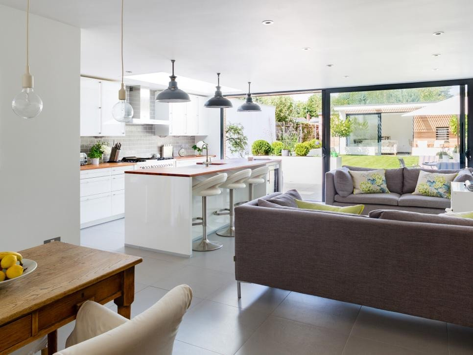 Open Concept Living Room Ideas 15 Open Concept Kitchens and Living Spaces with Flow