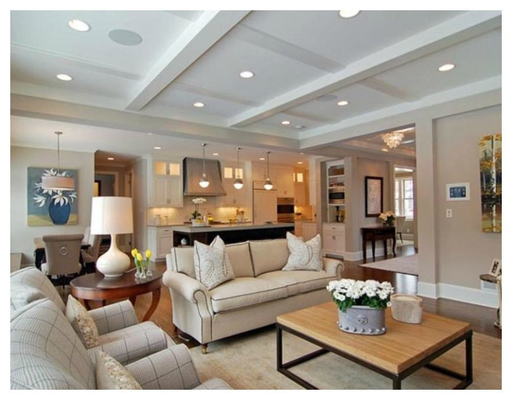 Open Concept Living Room Ideas How to Make Open Concept Homes Feel Cozy