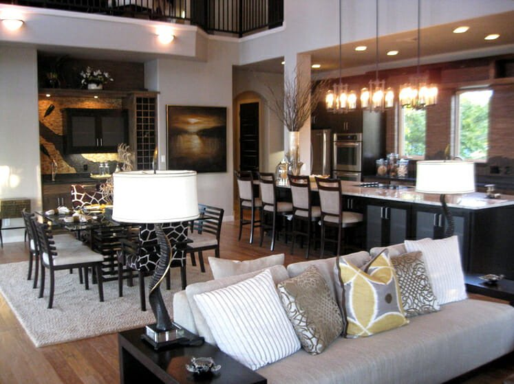 Open Concept Living Room Ideas How to Open Concept Kitchen and Living Room Décor Modernize