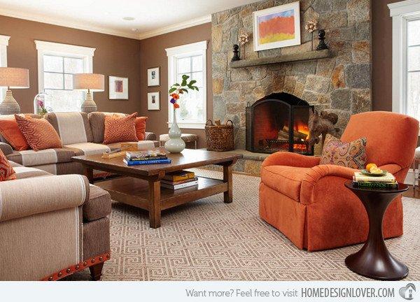 Orange Decor for Living Room 15 Close to Fruity orange Living Room Designs Decoration