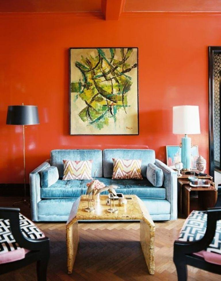 Orange Decor for Living Room 15 Lively orange Living Room Design Ideas Rilane