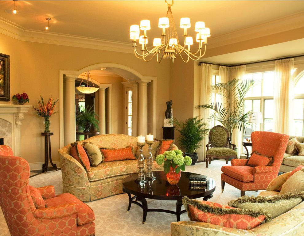 Orange Decor for Living Room 19 orange Living Room Designs Decorating Ideas