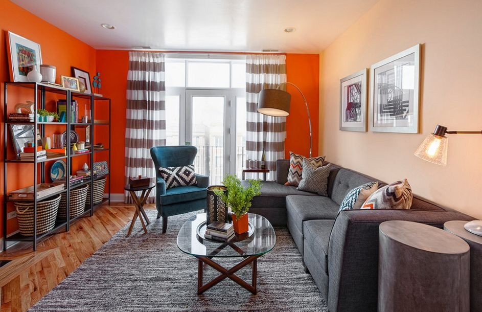Orange Decor for Living Room Fall Into orange Living Room Accents for All Styles