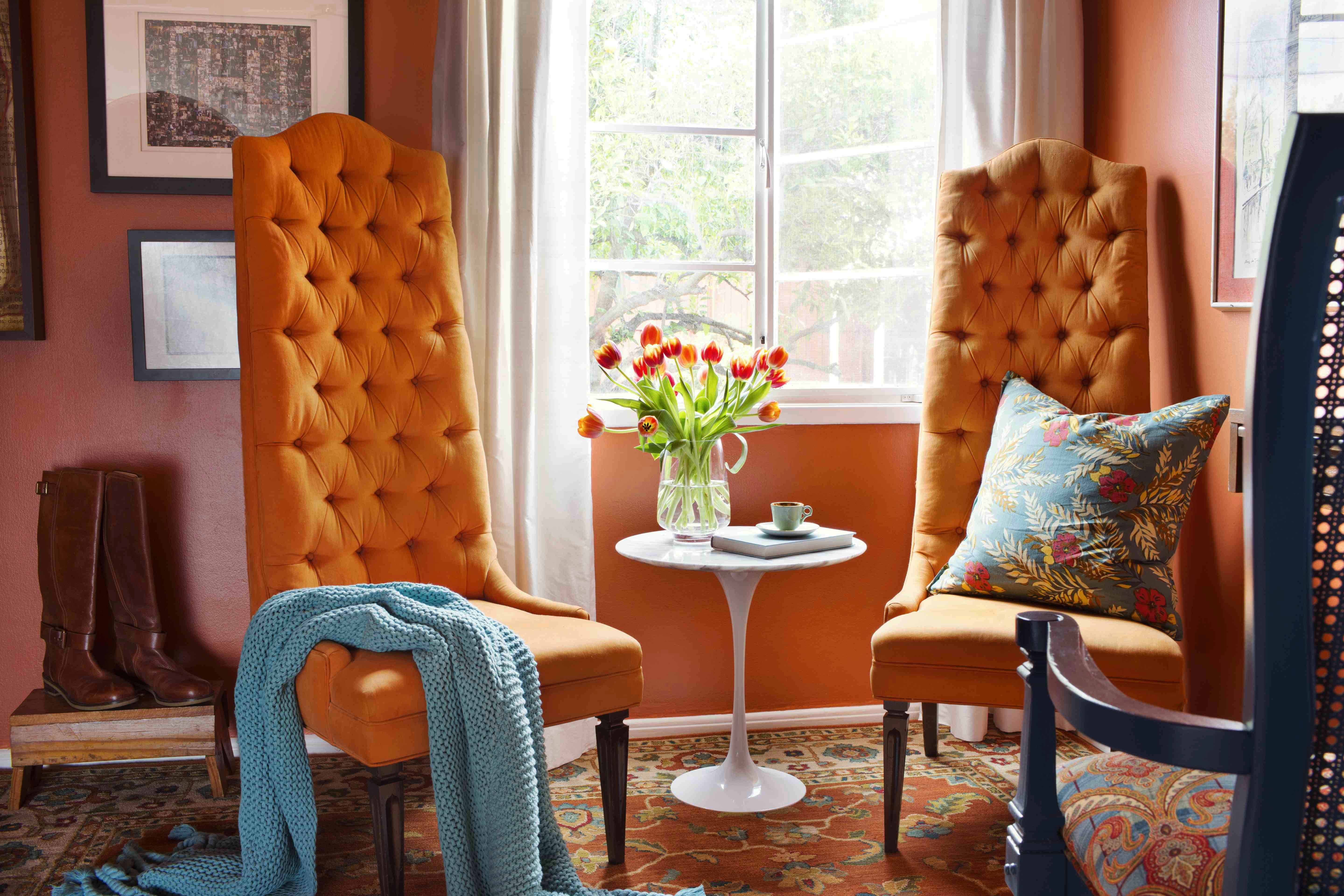 Orange Decor for Living Room How to Decorate Your Home with orange S