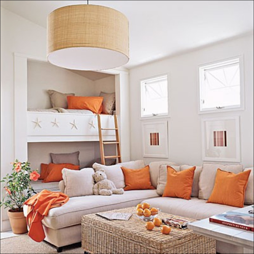 Orange Decor for Living Room Let S Decorate Line Live In Color