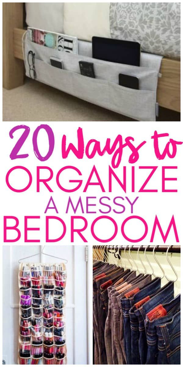 Organization Tips for Bedroom 20 Amazing organization Hacks that Will Transform Your