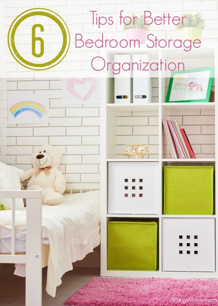 Organization Tips for Bedroom 6 Tips for Better Bedroom Storage organization All Things