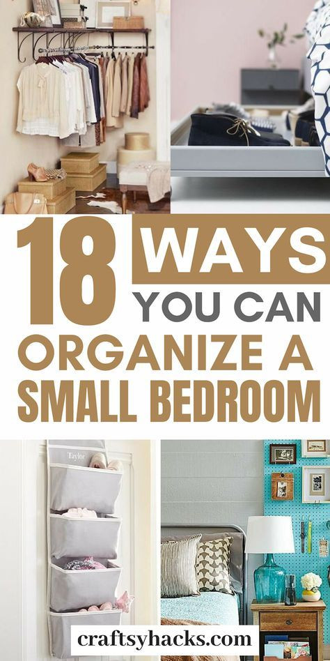 Organization Tips for Bedroom Pin On Awesome Room Ideas