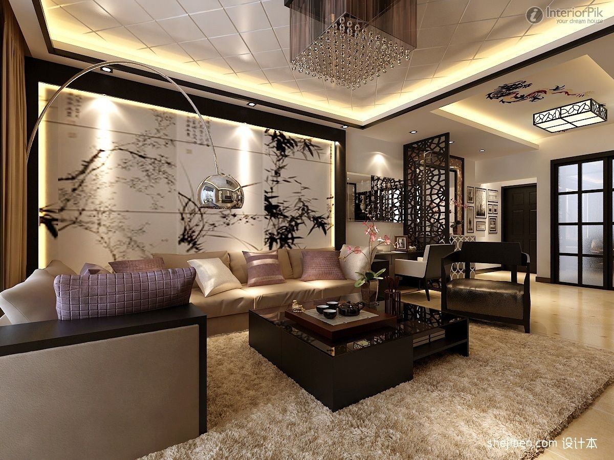 Oriental Living Room Ideas asian Living Room