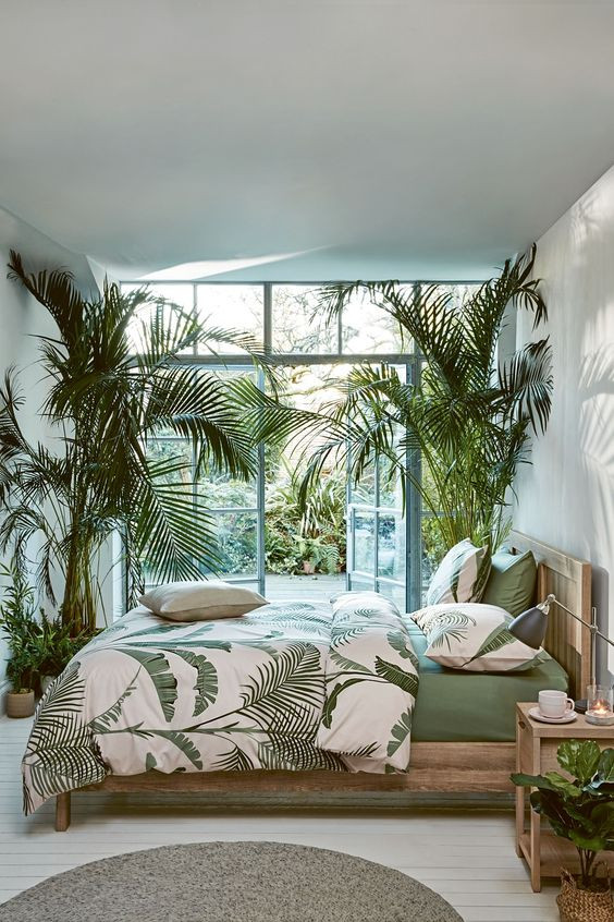 Palm Tree Decor for Bedroom 53 Bright Tropical Bedroom Designs Digsdigs