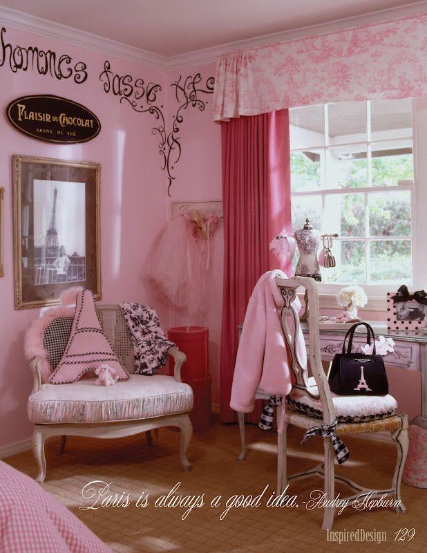 Paris themed Decor for Bedroom Little Girl Paris Bedroom
