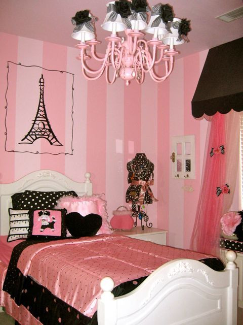 Paris themed Decor for Bedroom Poodles Paris and A Pink Bedroom