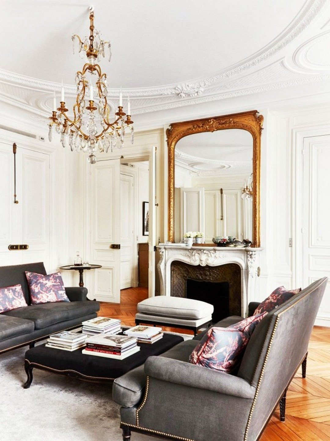 Paris themed Living Room Decor 29 Luxurious Parisian Style Home Decor the Master Of