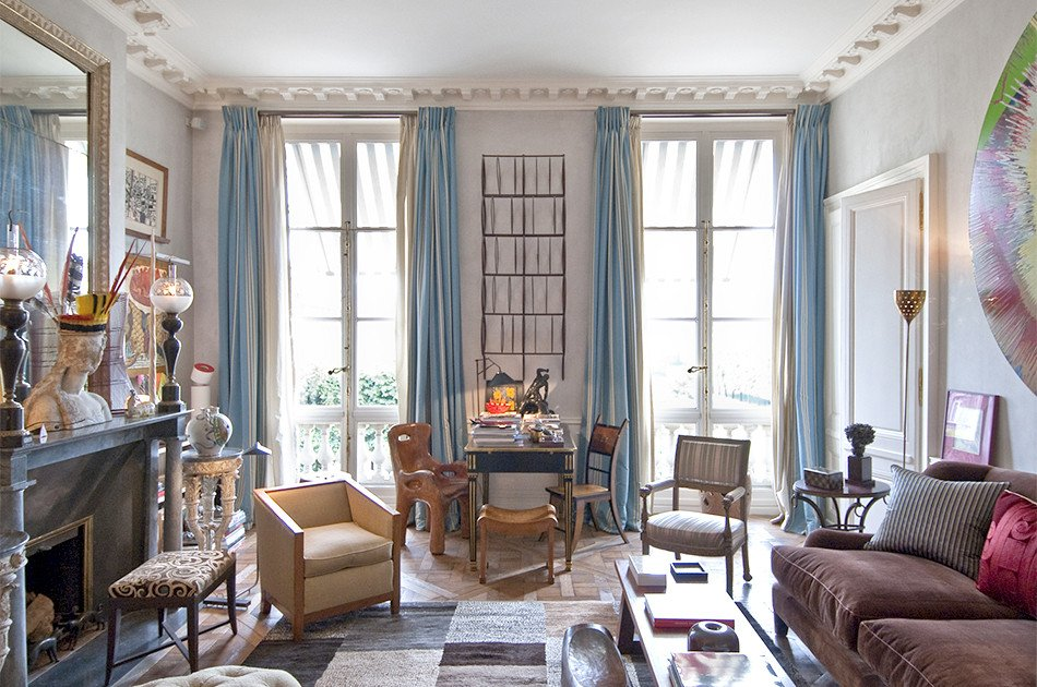 Paris themed Living Room Decor Jacques Grange Interior Design S French Connection