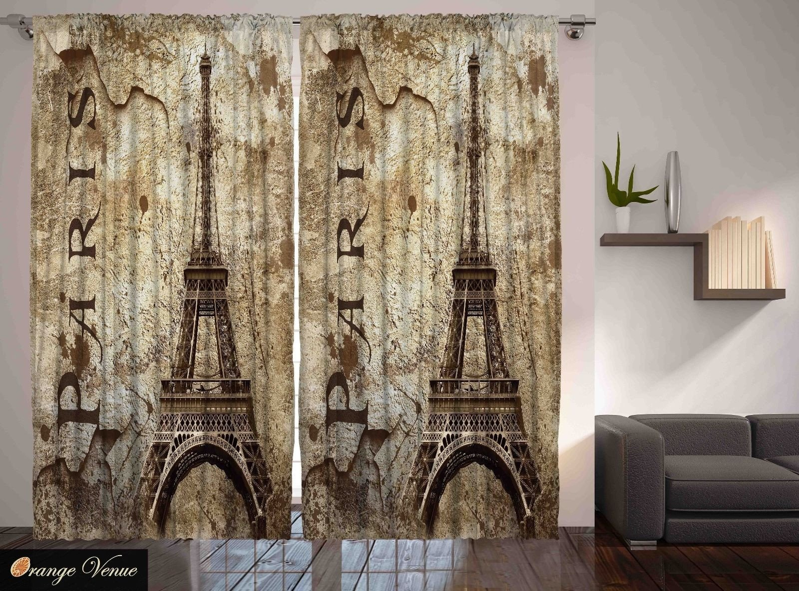 Paris themed Living Room Decor Paris Decor Eiffel tower Parisian Cityscape themed Living