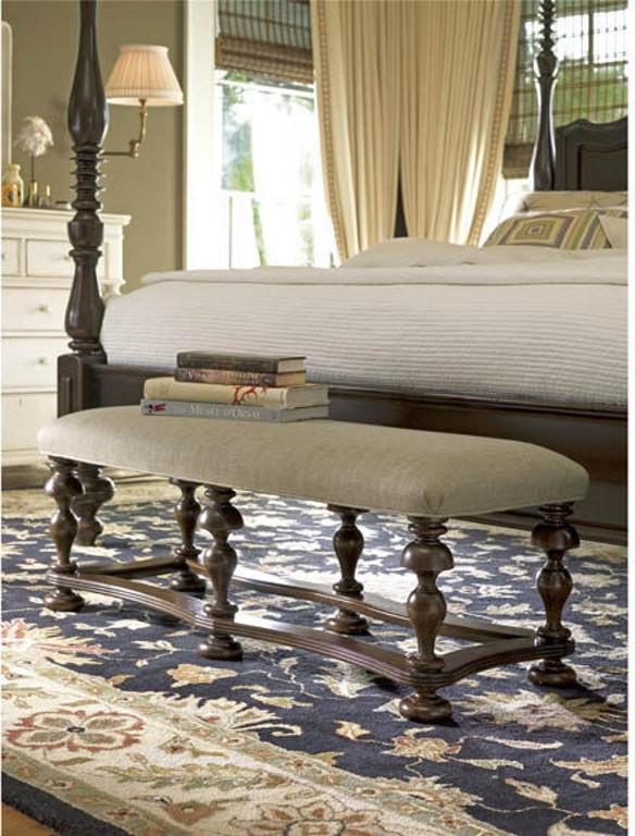 Paula Deen Furniture Bedroom Paula Deen by Universal Bedroom Bed End Bench Rta