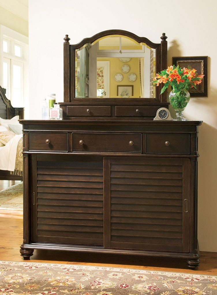 Paula Deen Furniture Bedroom Paula Deen Home Ladys Dresser tobacco