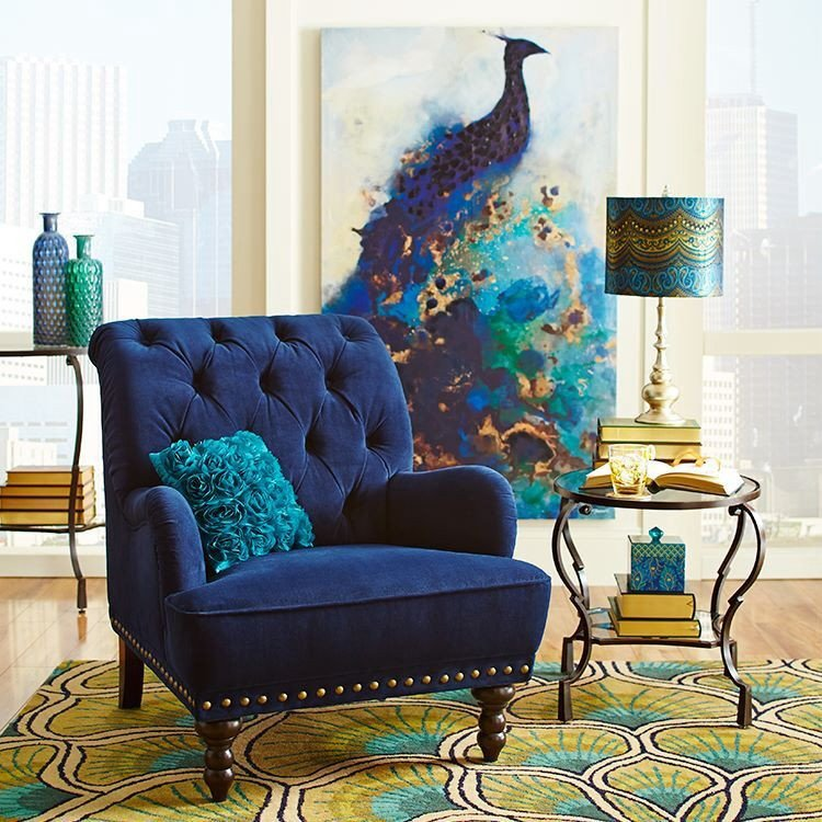 Peacock Decor for Living Room Pier E Peacock Decor Home Decor