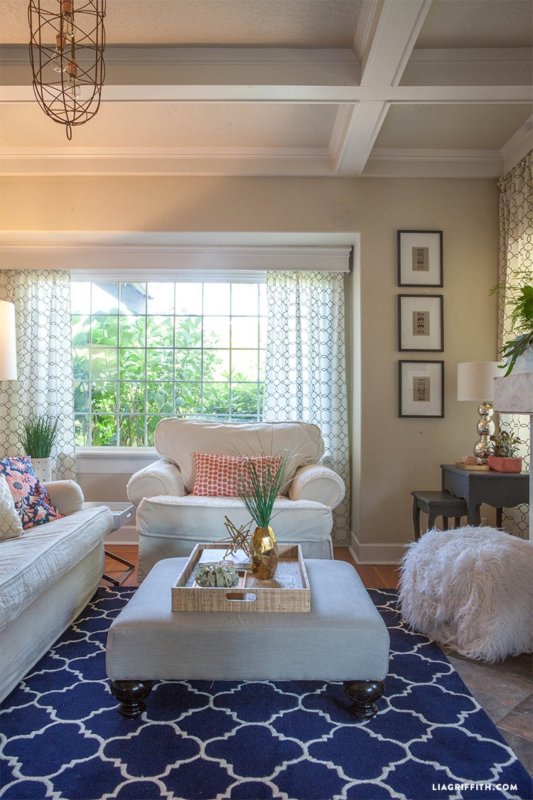 Pictures for Living Room Decor Coral Living Room Update for Summer Lia Griffith