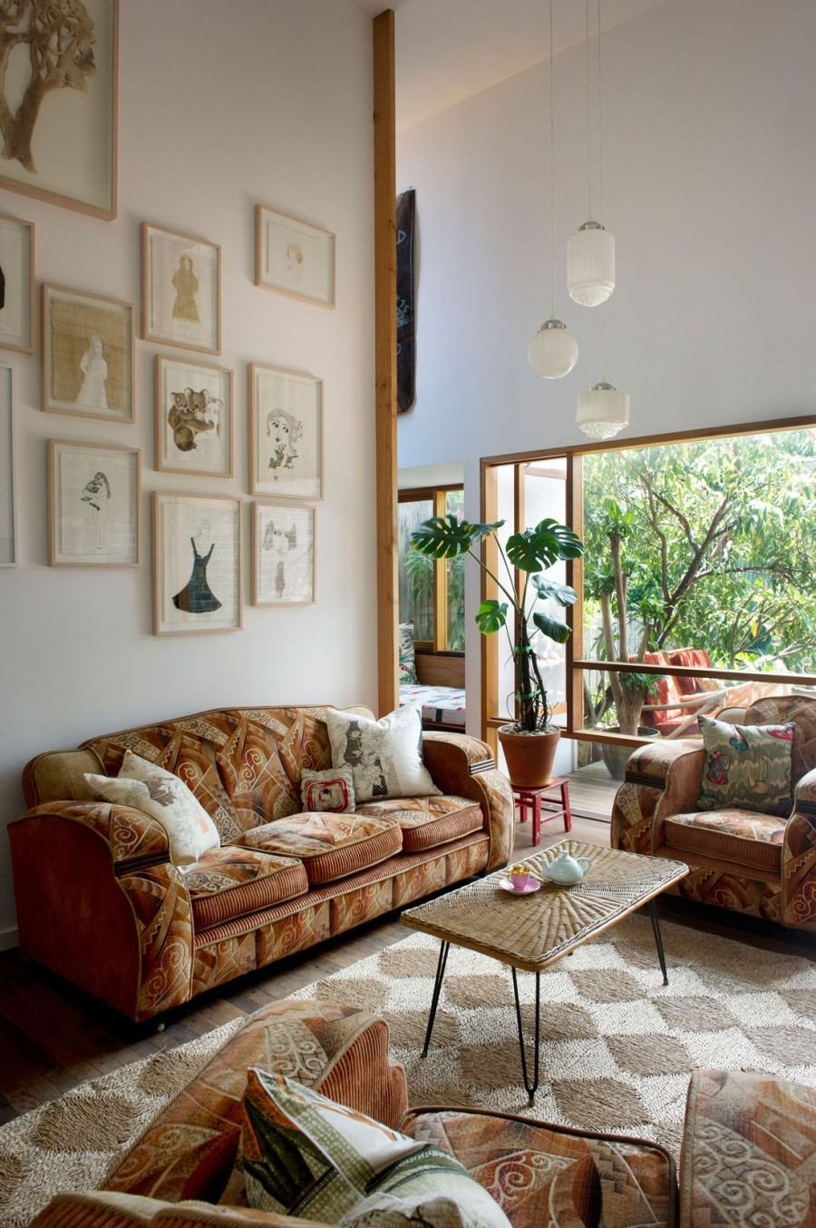 Pictures for Living Room Decor Eclectic Sydney House Presents Colorful and Quirky Interiors