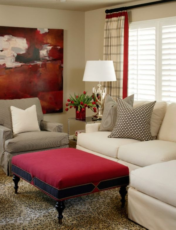 Pictures for Living Room Decor How to Work with Red to Create Vibrant and Elegant Decors