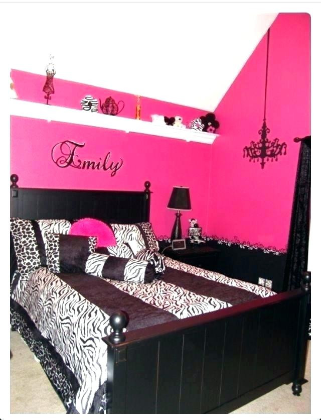 Pink and Black Bedroom Decor Pink and Black Bedroom