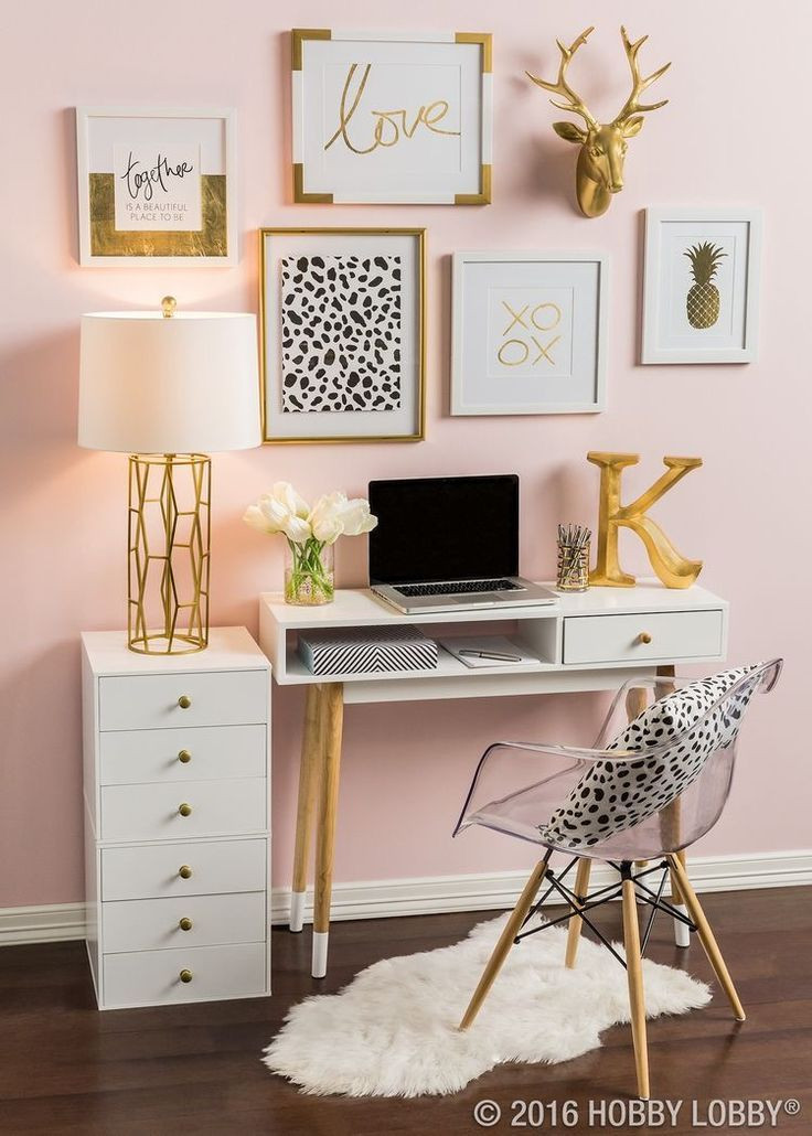 Pink and Gold Bedroom Decor Romantic Decorating Ideas • All Around the House