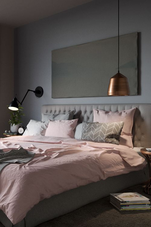 Pink and Gray Bedroom Decor 40 Gray Bedroom Ideas & Decor