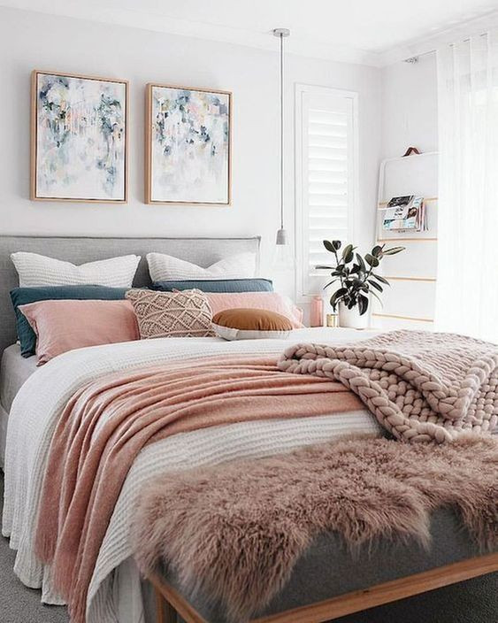 Pink and Gray Bedroom Decor 42 Chic Pink and Grey Bedroom Decorating Ideas for Girls