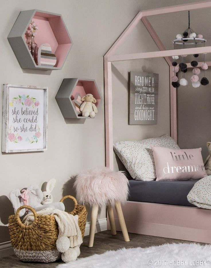 Pink and Gray Bedroom Decor 8 Room Decor Ideas for Kids