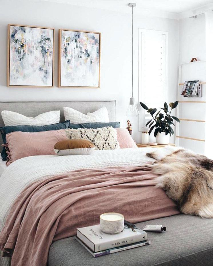 Pink and Gray Bedroom Decor Pink and Grey Bedroom Get Your Bedroom Decor Summer Ready