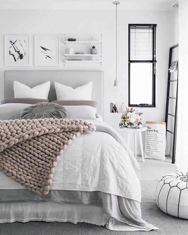 Pink and Gray Bedroom Decor Pink Grey Bedroom …