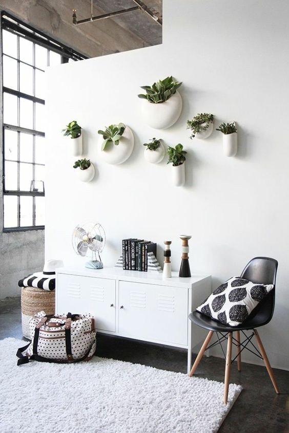 Plant Stand Ideas to Fill Your Living Room 22 Indoor Plant Displays that Won't Spoil Interiors