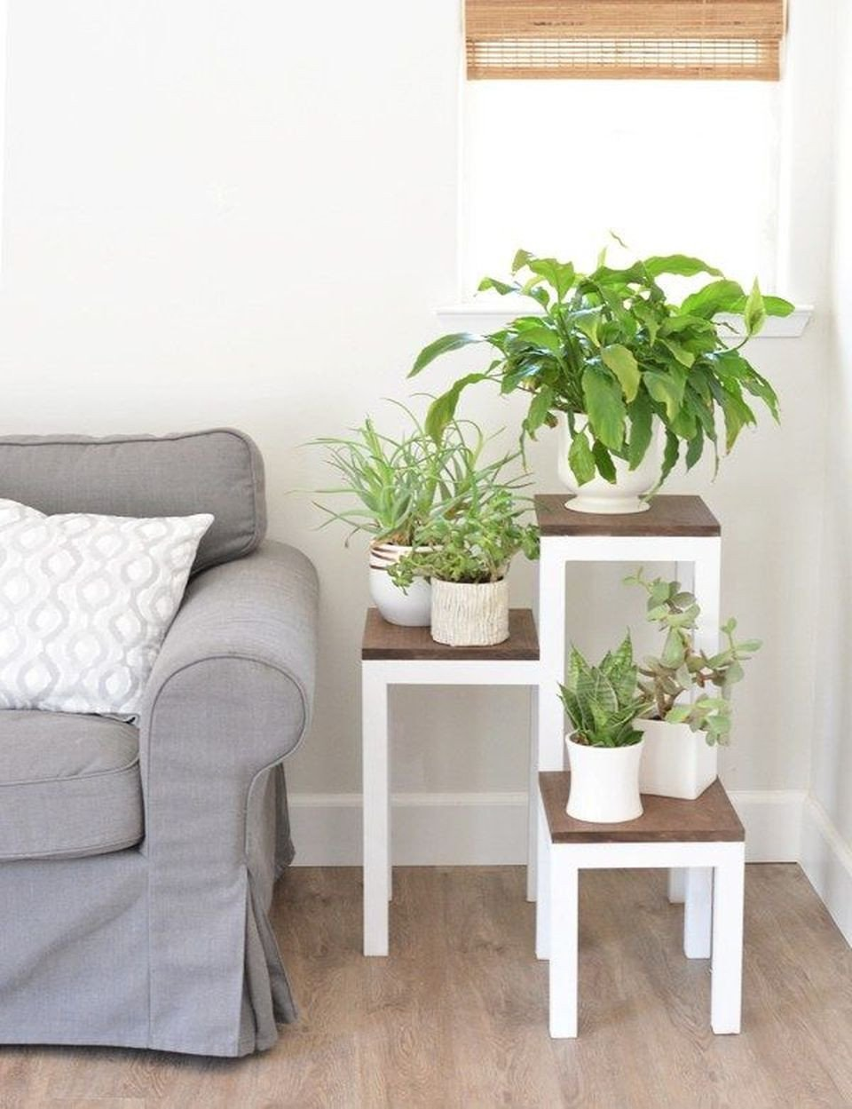 Plant Stand Ideas to Fill Your Living Room Cool Plant Stand Design Ideas for Indoor Houseplants