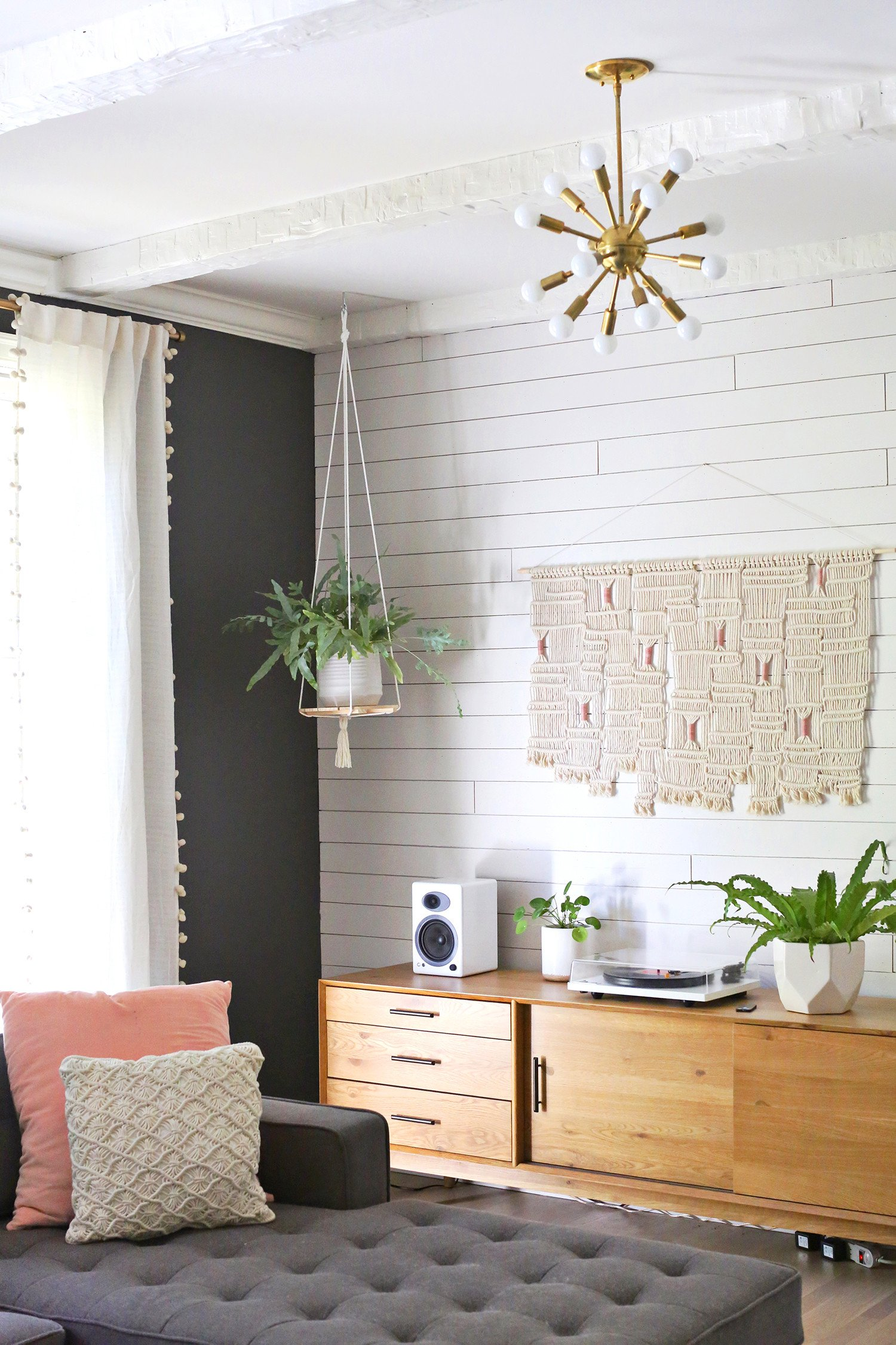 Plant Stand Ideas to Fill Your Living Room Hanging Plant Shelf Diy A Beautiful Mess