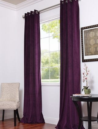 Plum Curtains for Bedroom Love the Length is is A Half Price Drapes Website