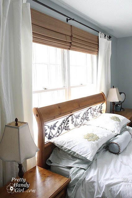 Pretty Curtains for Bedroom Hanging Curtains and No Iron solution to Wrinkles Pretty