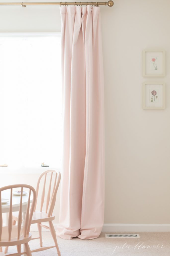 Pretty Curtains for Bedroom How to Hang Curtains to Look Like Custom Drapes