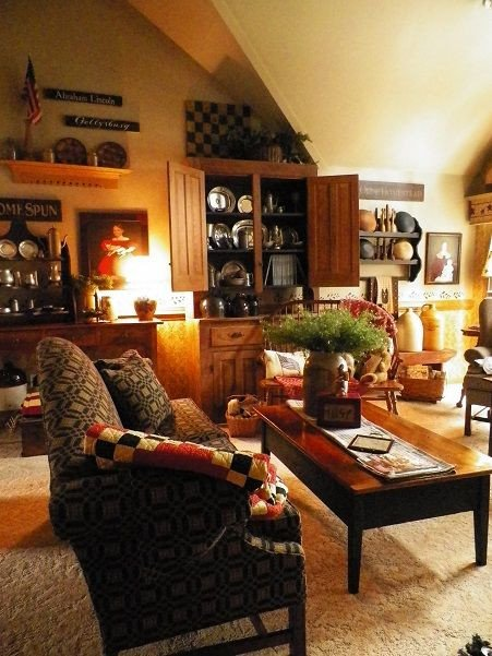 Primitive Small Living Room Ideas 17 Best Images About Primitive Americana Living Room