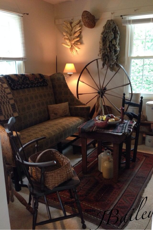 Primitive Small Living Room Ideas 202 Best Images About Primitive Livingroom On Pinterest