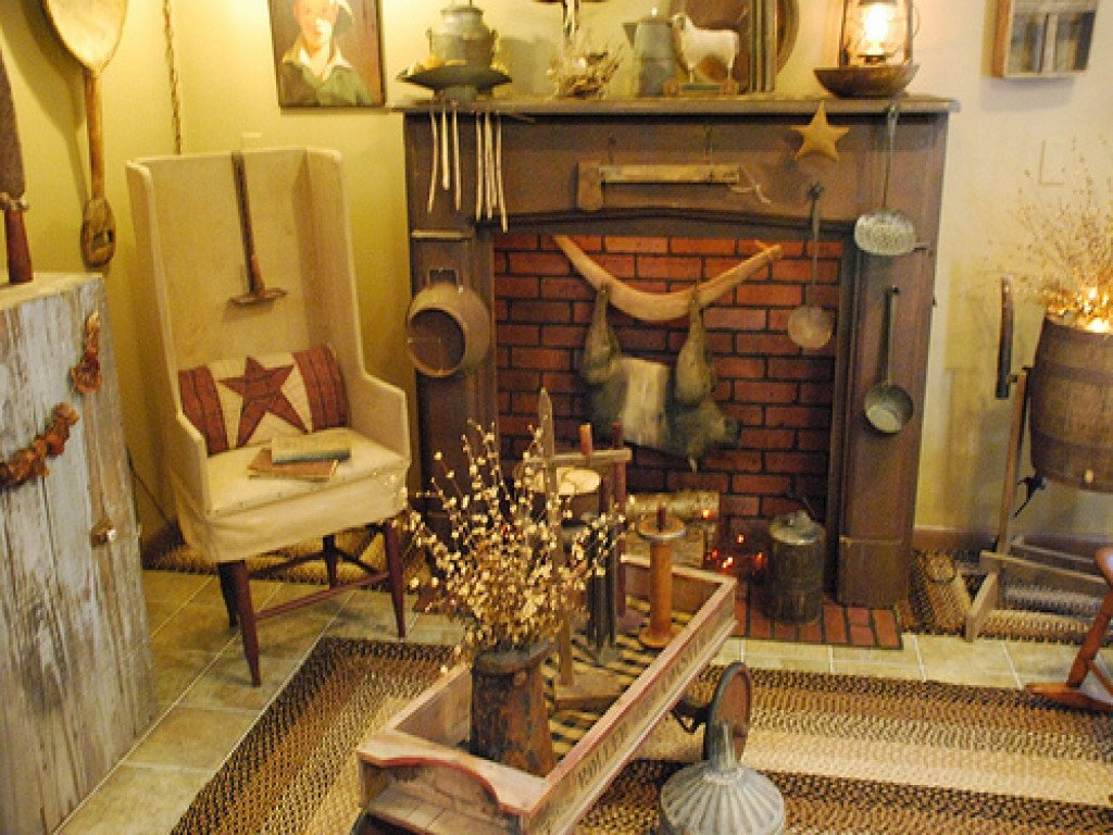 Primitive Small Living Room Ideas Thanksgiving Home Decorating Ideas Small Rooms Country