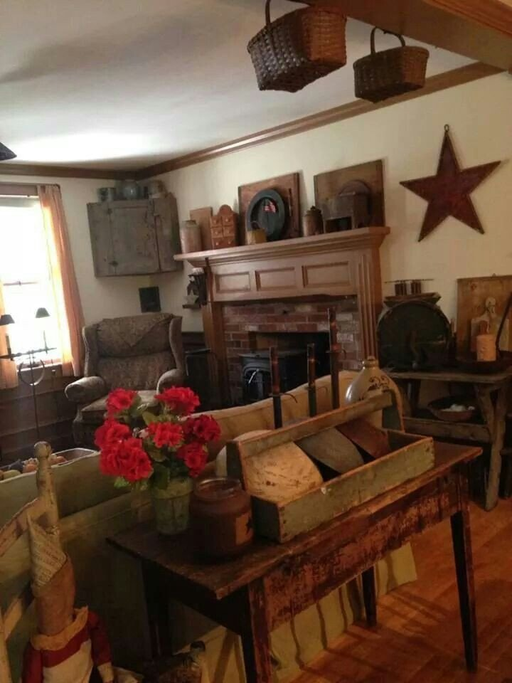 Primitive Small Living Room Ideas View source Image Prims